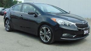 2015 Kia Forte SX - LEATHER - NAV - SUNROOF - CAMERA