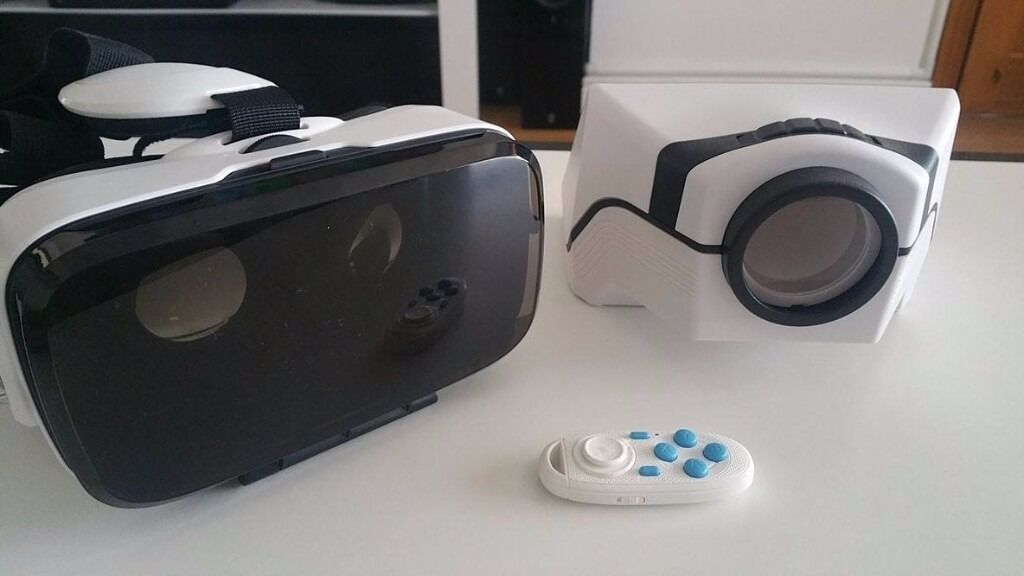 Smartphone VR Headset with remote and projectorin Newtownabbey, County AntrimGumtree - Used a few times and in very good condition smartphone VR headset with remote and projector. RRP £55 Prefer to text 07565354986