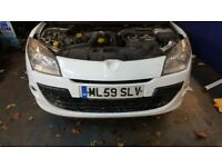 2010 RENAULT MEGANE 1.5 DCI estate BREAKING ENGINE GEARBOX BODY PARTS LIGHT K9K 830 10, used for sale  Luton, Bedfordshire