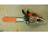 Stihl 028 AVS Wood Boss, West German made, running well (see description)