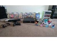 Xbox 360 250gb with extras
