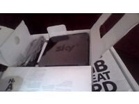 Sky HD box and router for sale