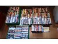 Massive Collection Of 330+ DVDs - Job Lot - All Shown In Photos
