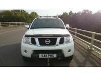 2011 Nissan Navara 2.5dCi turbo diesel Top of the range Tekna fully loaded low mileage full history