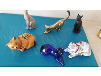 Franklin Mint collectable cats