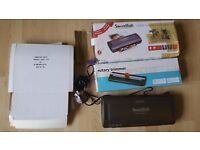 A4 Laminator, rotary trimmer and 200 pouches - £20