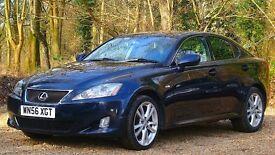 Lexus IS 220d 2.2 TD Sport 4dr FULL SERVICE HISTORY 2006 (56 reg), Saloon 72,000 miles Diesel