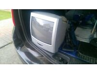 Small Television.