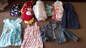 Girl clothing bundle - 16 pieces 2-3 years