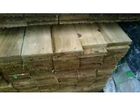 5x1 Fence board Treated/Tanalised Timber 3.6mt / 12f