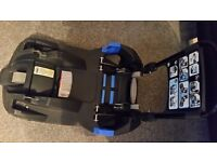 Britax carseat belted base
