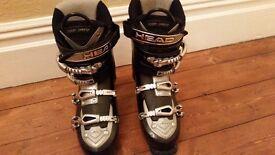 Head EZon 9.5 Ski Boots Size 7