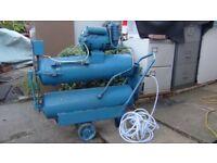 Air compressor low noise 100ltr