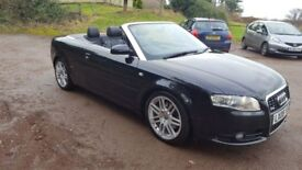 Stunning Special Edition S Line Convertible Audi A4. Full Service History. Excellent condition