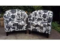 Pair of Tub Armchairs