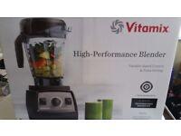 NEW Vitamix Pro 300 Professional Series Blender UK Black BNIB