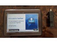 TomTom Via 120 Touchscreen Sat Nav - European Coverage & Hands Free