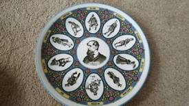 WEDGWOOD CHARLES DICKENS CHARACTERS COLLECTORS PLATE