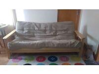 Double Futon Sofa - Excellent Condition