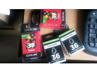 Lexmark Printer cartridges 36 and 37