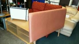 Double headboard thick padded