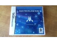 ELECTROPLANKTON FOR THE NINTENDO DS / COMPLETE COLLECTORS GAME.
