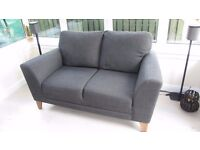 2 seater Sofa - Charcoal grey 2 seater sofa - good condition