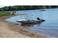 Fletcher Arrosport GTO speedboat, Mercury 75hp outboard, Snipe trailer