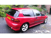 Honda Civic EG6 VTI Breaking B16 B18 K20 H22 D16 VTEC Engine Type R EK9 Integra DC2 SiR EG EK EJ