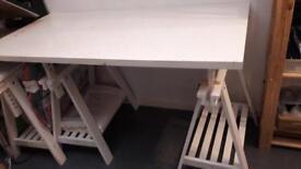 Trestle table x2