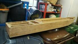 Large model boat hull