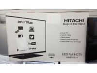 Brand new Hitachi tv 48 in smart led full hd for sale in Coventry 12 month warranty