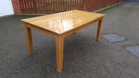 Large Solid Oak Dining Table (180cm) FREE DELIVERY 812