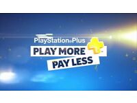 playstation plus subscription 1 year
