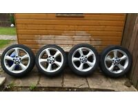 """BMW 3 Series 17"""" Alloy wheels with Tyres"""
