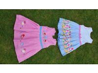 GIRLS JOJO MAMAN BEBE DRESSES 3-4