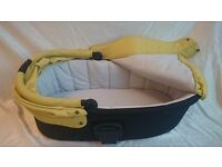Urbo and Urbo2 Carrycot - Lime (Mamas and Papas)