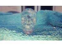 Clear resin skulls