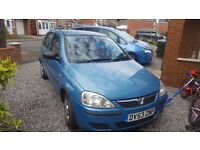 Corsa 53 reg 5 door in excellent condation for age