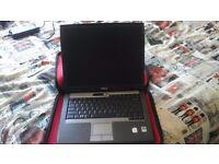 Dell Latitude d520 Laptop CORE 2 DUO 1.83 GHz 2 GB RAM | WINDOWS 7