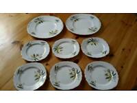Colclough plate set
