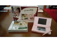 PINK NINTENDO DS STARTER PACK + CARRY CASE,GAMES CASE & 5 GAMES