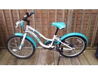 "Apollo Oceana Girls 20"" 6 speed bike"