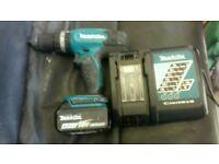 Makita dhp453 lxt hammer drill