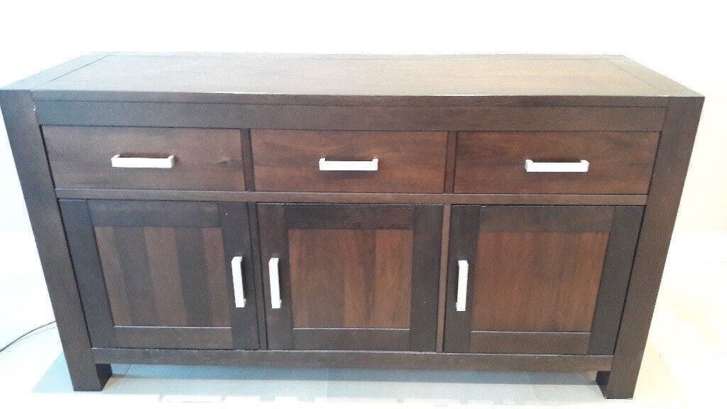 Solid Wood Dining Room Dresser Excellent Condition Collection Only