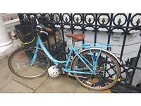 Blue Viking ladies town bike