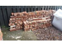 Reclaimed Bricks approx 400 -collect for Free