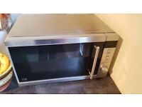 Kenwood Microwave - chrome - great condition - works perfectly