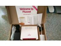 Brand new plusnet router. Boxed.