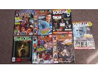 Horror Magazines x 7 Like New Fangoria Scream